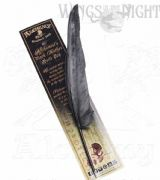 ALCHEMY GOTHIC The Alchemist's Black Feather Quill Pen | Gothic Gifts & Home